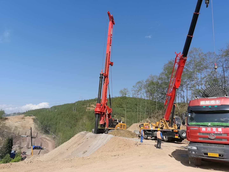 旋挖钻机SR405   现货充足旋挖钻机 轮式旋挖钻机