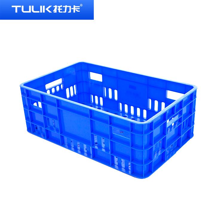 塑胶物流筐子物料收纳筐快递货框贵州厂家塑料筐直销