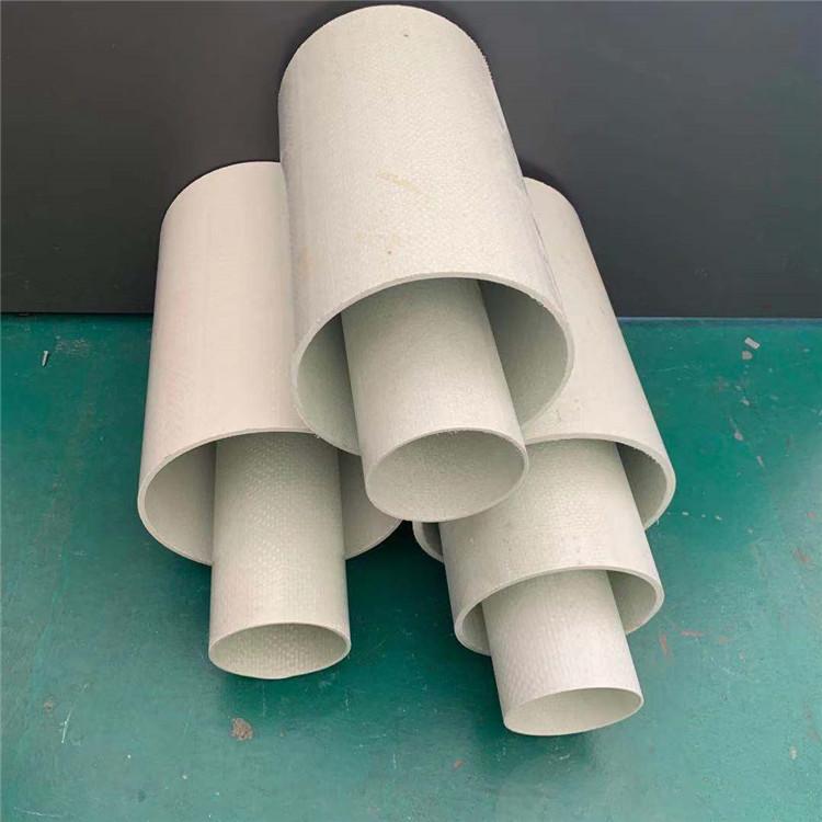 玻璃钢编织拉挤管电力夹砂管 玻璃钢管道 拉挤编织缠绕电缆管厂家