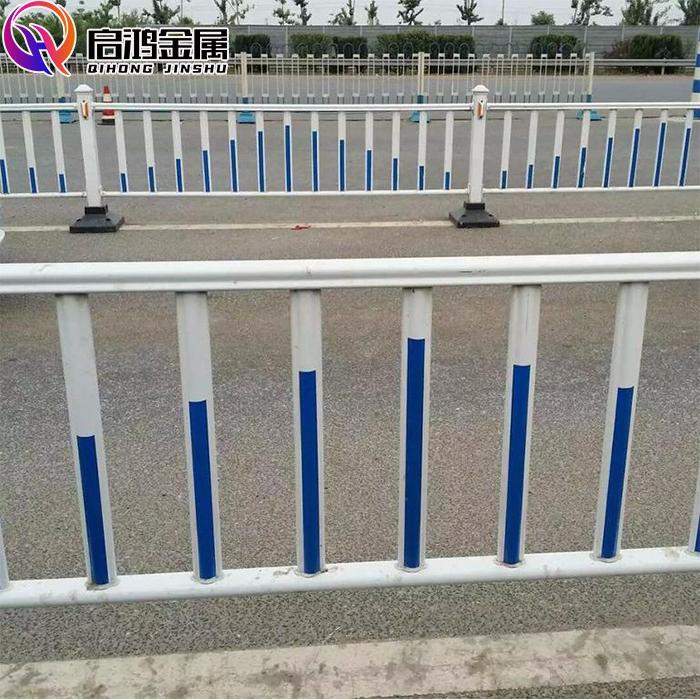 甘肃锌钢护栏  兰州启鸿市政护栏厂家