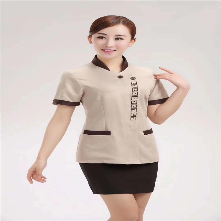 保洁服现货批发 专业工作服定制厂家质量保证 清洁服工作服