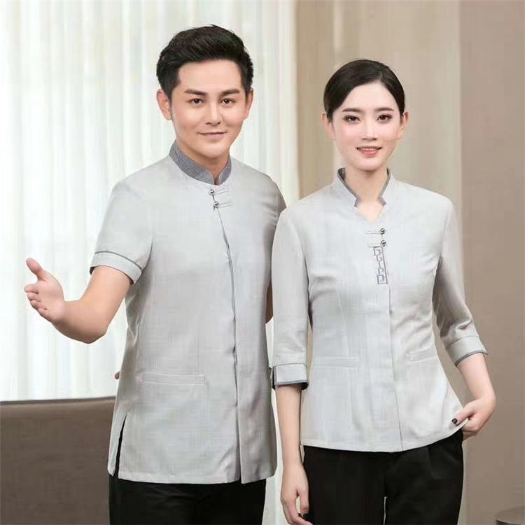 西安专业工作服定制厂家 夏季保洁服批发 家政服定制