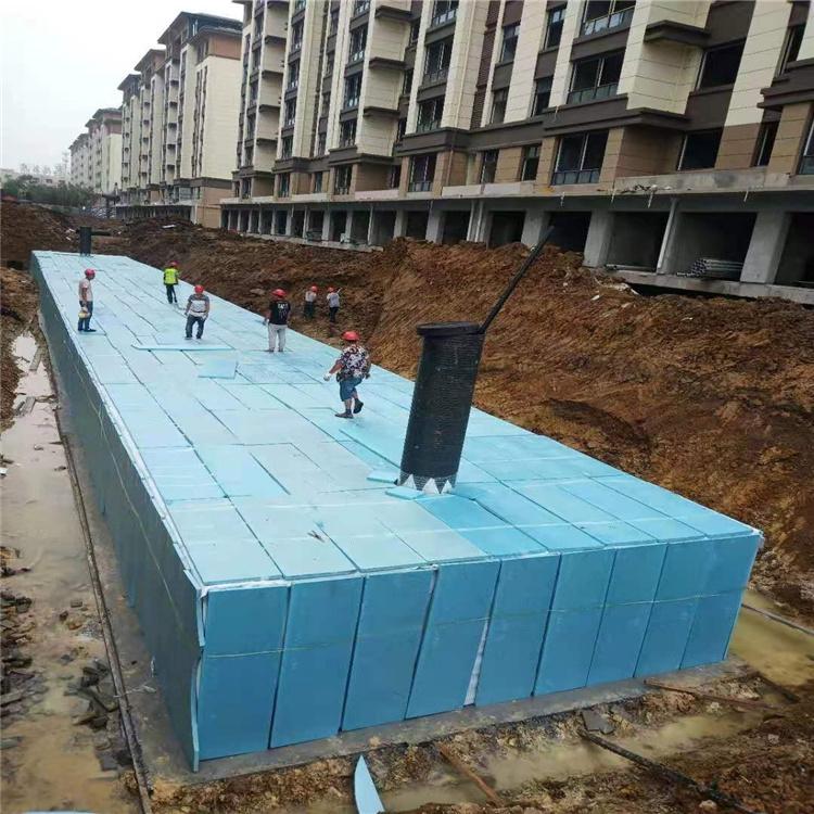 西安雨水收集模块  雨水调蓄池    雨水收集装置工程