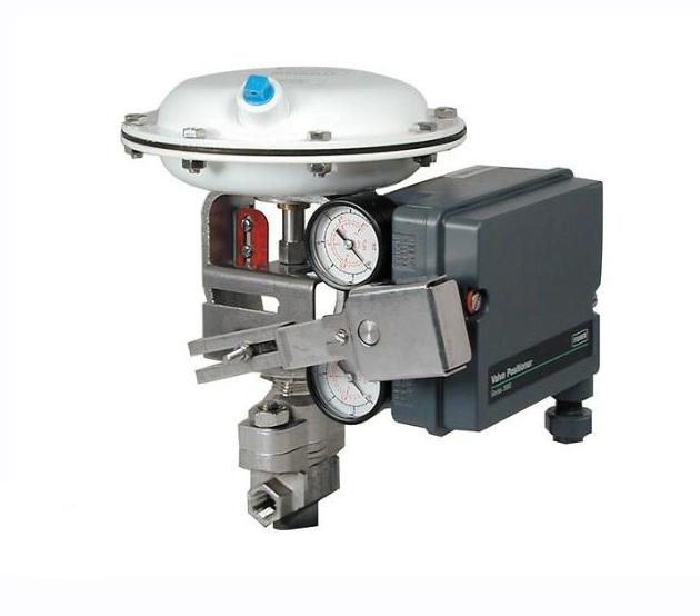 陕西现货销售全新费希尔3660/3661单作用气动阀门定位器