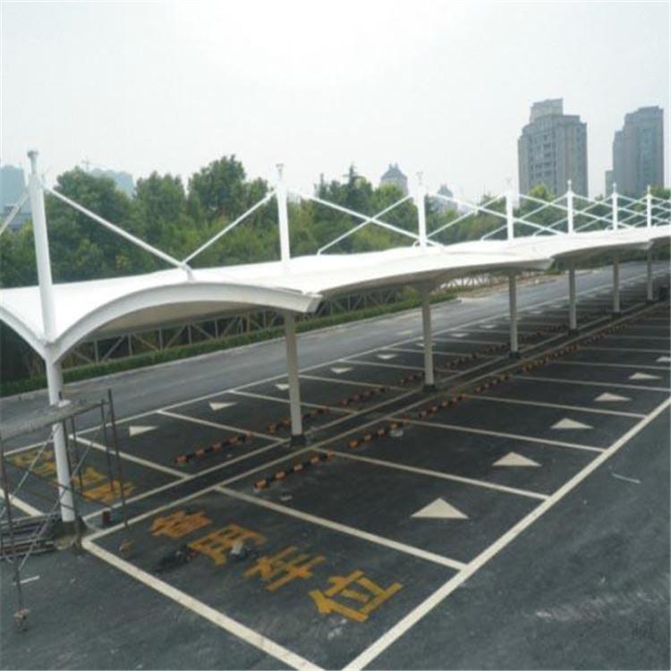 车棚膜结构 银川汽车车棚膜结构优质厂家 专业定制各种膜结构