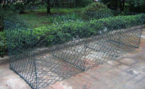 金天元格宾网厂家直销 pvc石笼网 河道铅丝笼