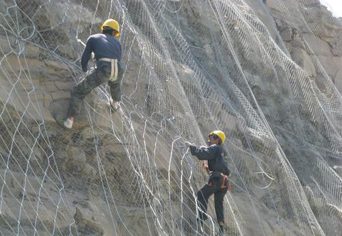 金天元 绿色边坡防护网 道路边坡铁丝网 诚信经营 厂家直销